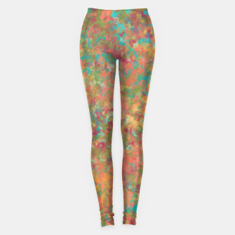 Thumbnail image of Peacock Marble Leggings, Live Heroes