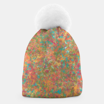 Thumbnail image of Peacock Marble Beanie, Live Heroes