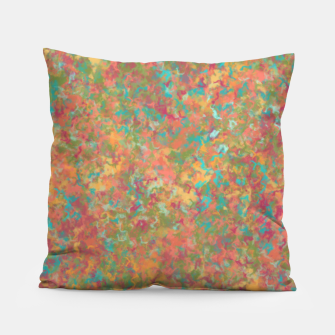Thumbnail image of Peacock Marble Pillow, Live Heroes