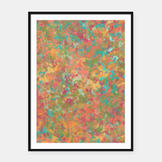 Thumbnail image of Peacock Marble Framed poster, Live Heroes