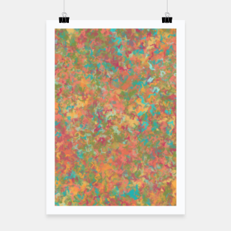 Thumbnail image of Peacock Marble Poster, Live Heroes