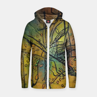 Thumbnail image of RASCRUCE Zip up hoodie, Live Heroes