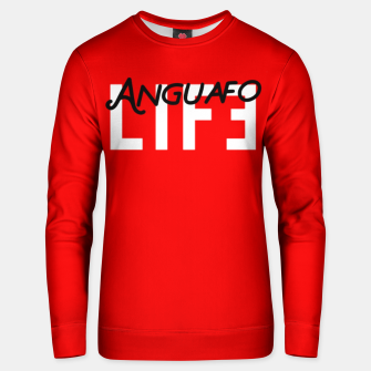 Thumbnail image of Anguafo Life Red  Bluza unisex, Live Heroes