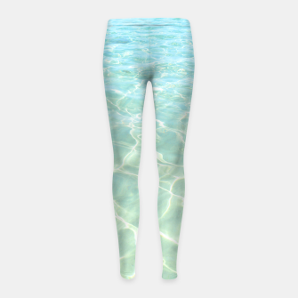Thumbnail image of All Clear Girl's leggings, Live Heroes
