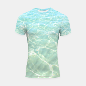 Thumbnail image of All Clear Shortsleeve rashguard, Live Heroes