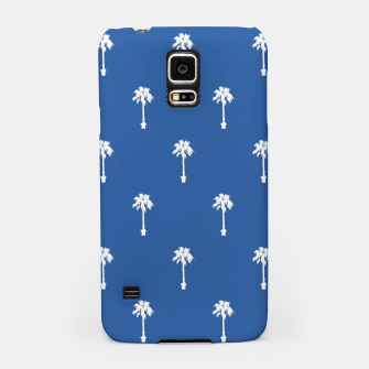 Thumbnail image of Palm silhouettes on blue Samsung Case, Live Heroes