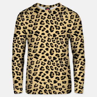 Thumbnail image of Cute Leopard Animal Print Pattern Unisex sweater, Live Heroes