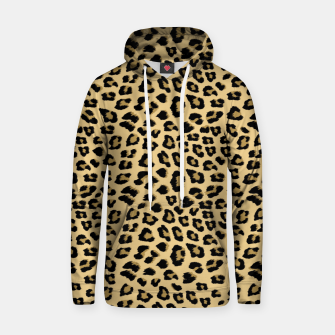 Thumbnail image of Cute Leopard Animal Print Pattern Hoodie, Live Heroes