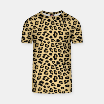 Thumbnail image of Cute Leopard Animal Print Pattern T-shirt, Live Heroes