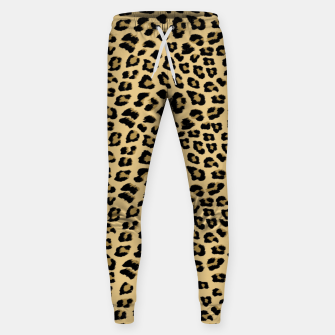 Thumbnail image of Cute Leopard Animal Print Pattern Sweatpants, Live Heroes