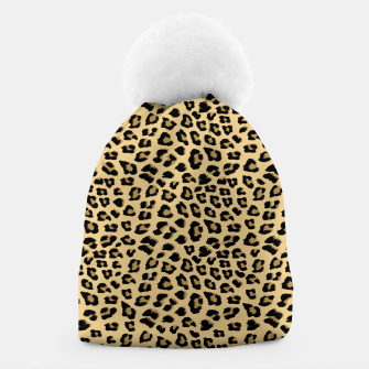 Thumbnail image of Cute Leopard Animal Print Pattern Beanie, Live Heroes