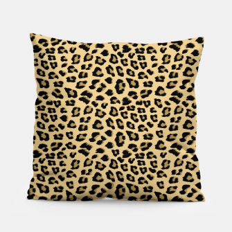 Thumbnail image of Cute Leopard Animal Print Pattern Pillow, Live Heroes