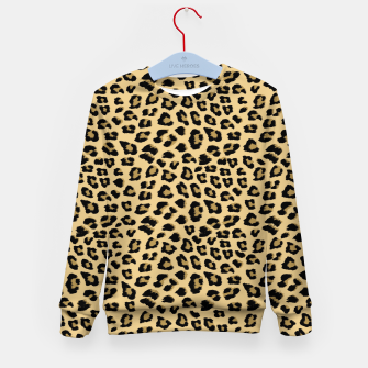 Thumbnail image of Cute Leopard Animal Print Pattern Kid's sweater, Live Heroes