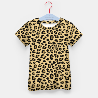 Thumbnail image of Cute Leopard Animal Print Pattern Kid's t-shirt, Live Heroes