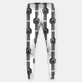 Thumbnail image of True Lover's Knot Pattern Sweatpants, Live Heroes