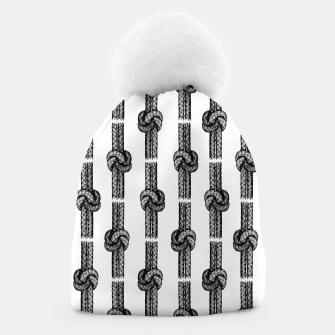 Thumbnail image of True Lover's Knot Pattern Beanie, Live Heroes