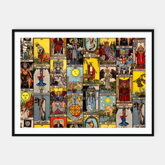 Thumbnail image of The Major Arcana | Tarot  Framed poster, Live Heroes