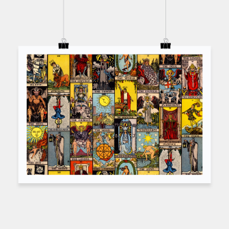 Thumbnail image of The Major Arcana | Tarot  Poster, Live Heroes