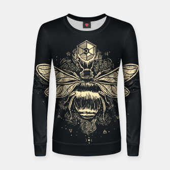 Thumbnail image of The Birth of Bees Women sweater, Live Heroes