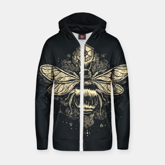 Thumbnail image of The Birth of Bees Zip up hoodie, Live Heroes