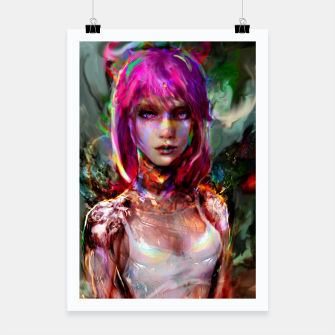Thumbnail image of cyberpunk  Poster, Live Heroes