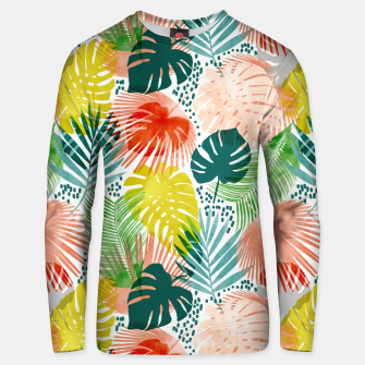 Tropical Garden Unisex sweater thumbnail image
