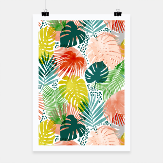 Thumbnail image of Tropical Garden Poster, Live Heroes