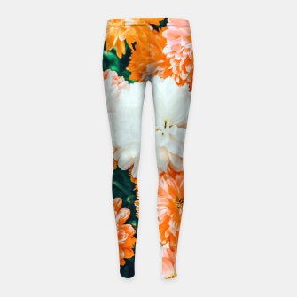 Thumbnail image of Garden Song Girl's leggings, Live Heroes