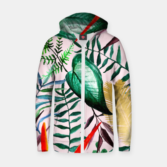 Thumbnail image of Paradise Dreams Zip up hoodie, Live Heroes