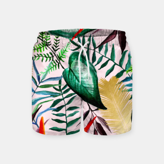 Thumbnail image of Paradise Dreams Swim Shorts, Live Heroes