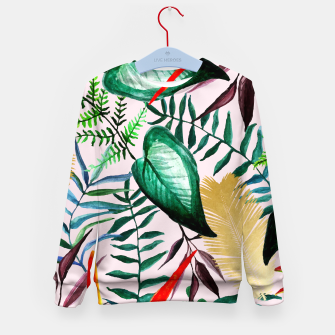 Thumbnail image of Paradise Dreams Kid's sweater, Live Heroes