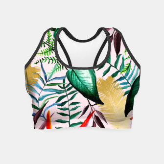 Thumbnail image of Paradise Dreams Crop Top, Live Heroes