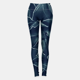 Thumbnail image of Agave Queen Succulent #1 #tropical #decor #art  Leggings, Live Heroes