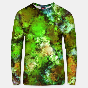 Thumbnail image of Green scene Unisex sweater, Live Heroes