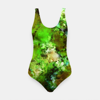 Thumbnail image of Green scene Swimsuit, Live Heroes