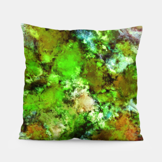 Thumbnail image of Green scene Pillow, Live Heroes