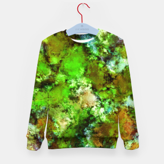 Thumbnail image of Green scene Kid's sweater, Live Heroes