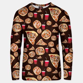 Thumbnail image of Pizza Pattern Unisex sweater, Live Heroes