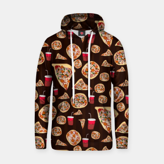 Thumbnail image of Pizza Pattern Hoodie, Live Heroes