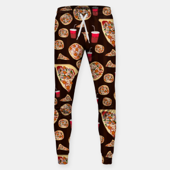 Thumbnail image of Pizza Pattern Sweatpants, Live Heroes