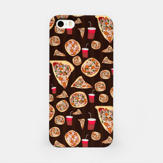 Thumbnail image of Pizza Pattern iPhone Case, Live Heroes