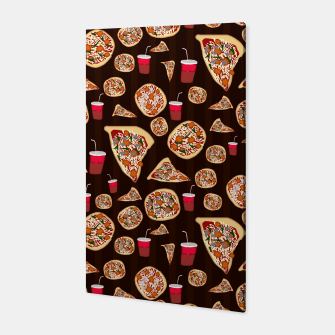 Thumbnail image of Pizza Pattern Canvas, Live Heroes
