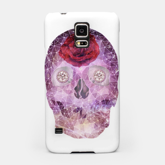 Thumbnail image of Diamond Rose Skull Samsung Case, Live Heroes
