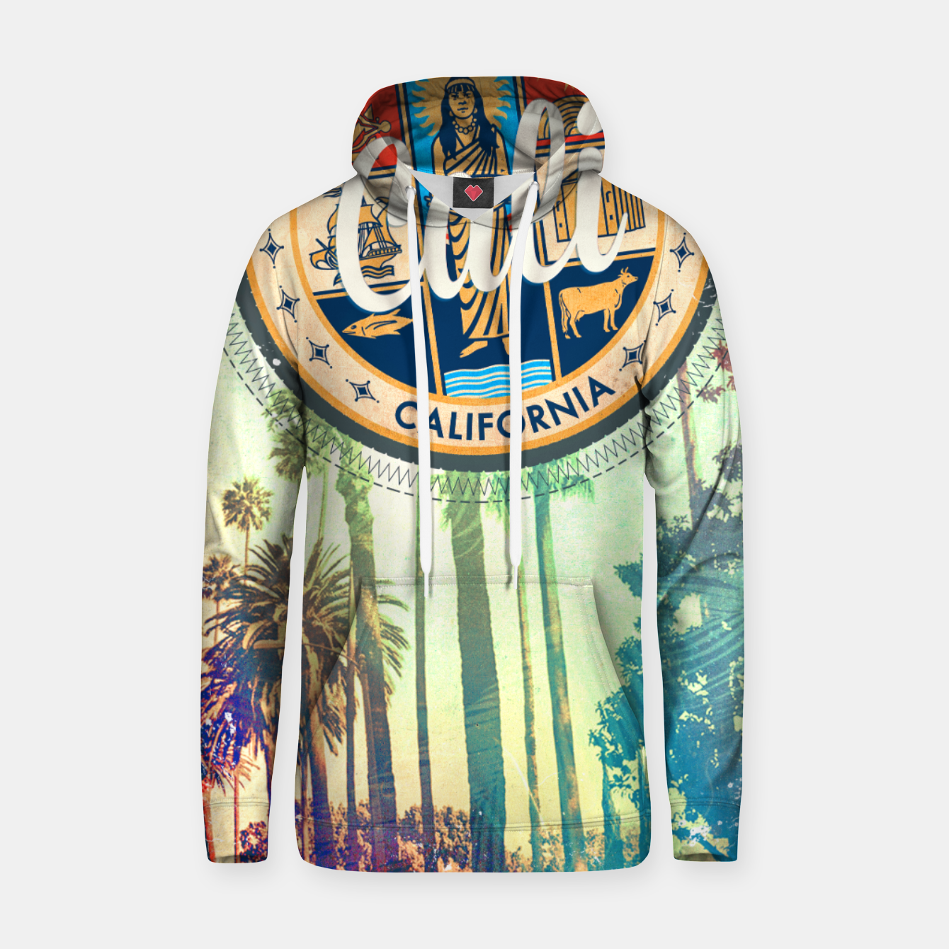 Image of California Dreaming Hoodie - Live Heroes