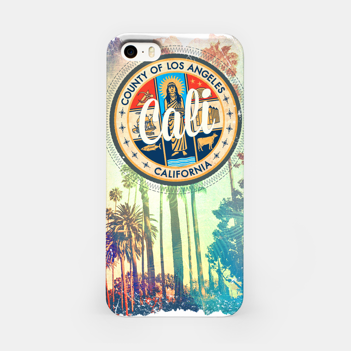 Image of California Dreaming iPhone Case - Live Heroes