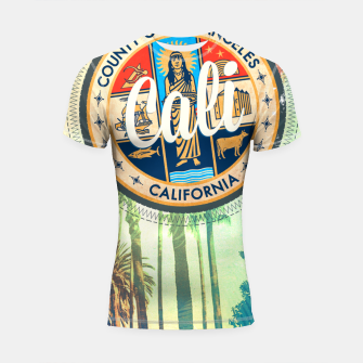 Thumbnail image of California Dreaming Shortsleeve rashguard, Live Heroes