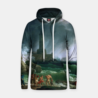 Thumbnail image of A Storm on a Mediterranean Coast by Claude Joseph Vernet Hoodie, Live Heroes