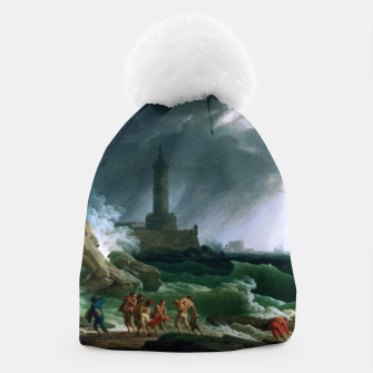 Thumbnail image of A Storm on a Mediterranean Coast by Claude Joseph Vernet Beanie, Live Heroes