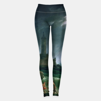 Thumbnail image of A Storm on a Mediterranean Coast by Claude Joseph Vernet Leggings, Live Heroes