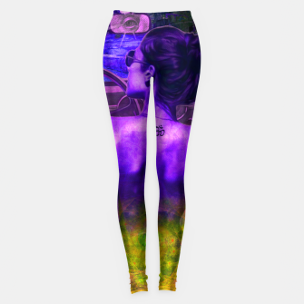 Pink Lady in Space Leggings thumbnail image